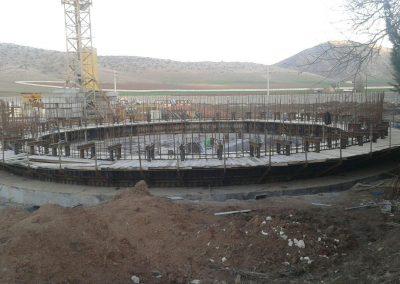 پروژه سیلوی بتنی بیست هزار تنی اسلام آباد غرب